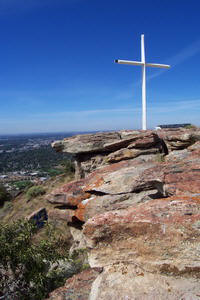Cross at Table Rock, Boise Idaho